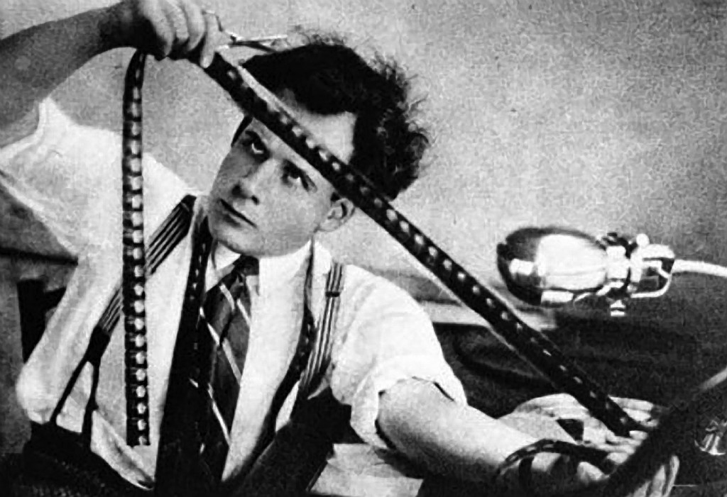 Sergi Eisenstein (1898-1948), Russian motion picture director and writer. Photo  Courtesy Mosfilm